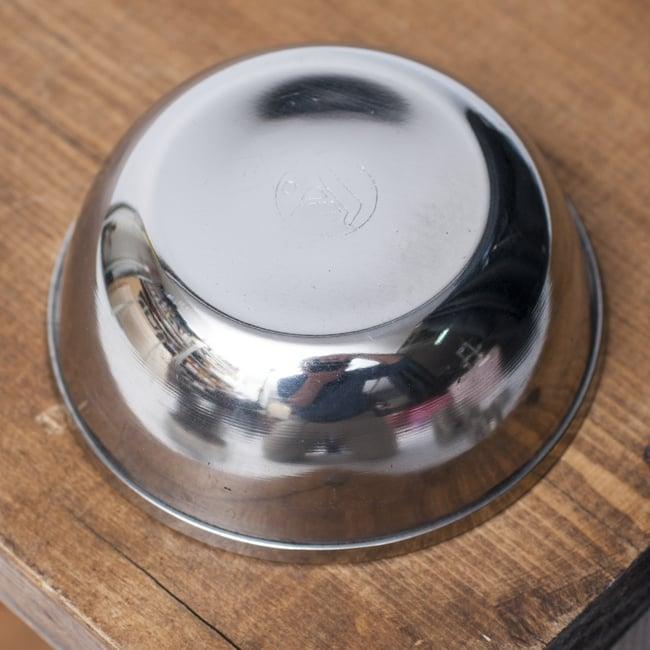 重ねられるカレー小皿 ダヒカトリ(約7.3cm×約2.7cm) 3 - 裏面の様子です。