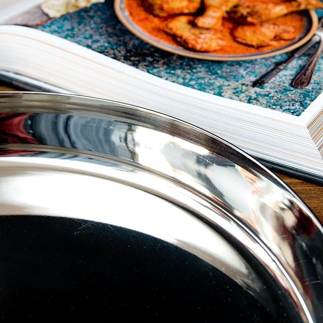 カレー大皿 [27.5cm]-重ね収納ができるタイプ 3 - 縁の写真です