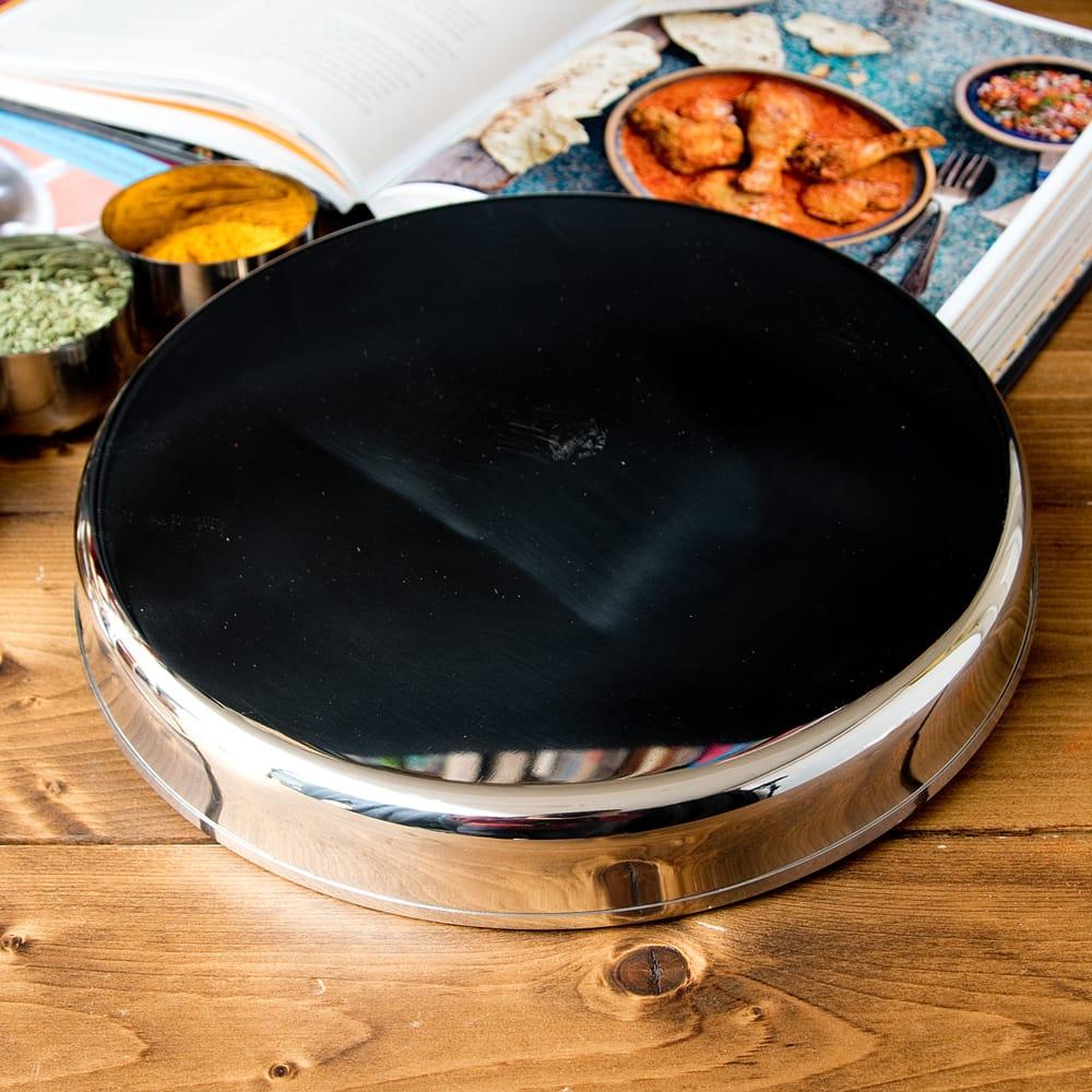カレー大皿 [27.5cm]-重ね収納ができるタイプ 5 - 裏面です