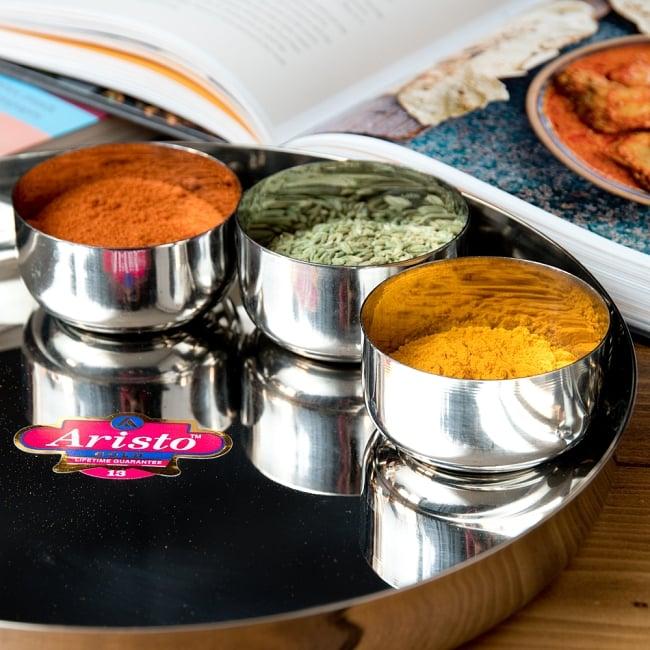 カレー大皿 [27.5cm]-重ね収納ができるタイプ 7 - 雰囲気がでるお皿です