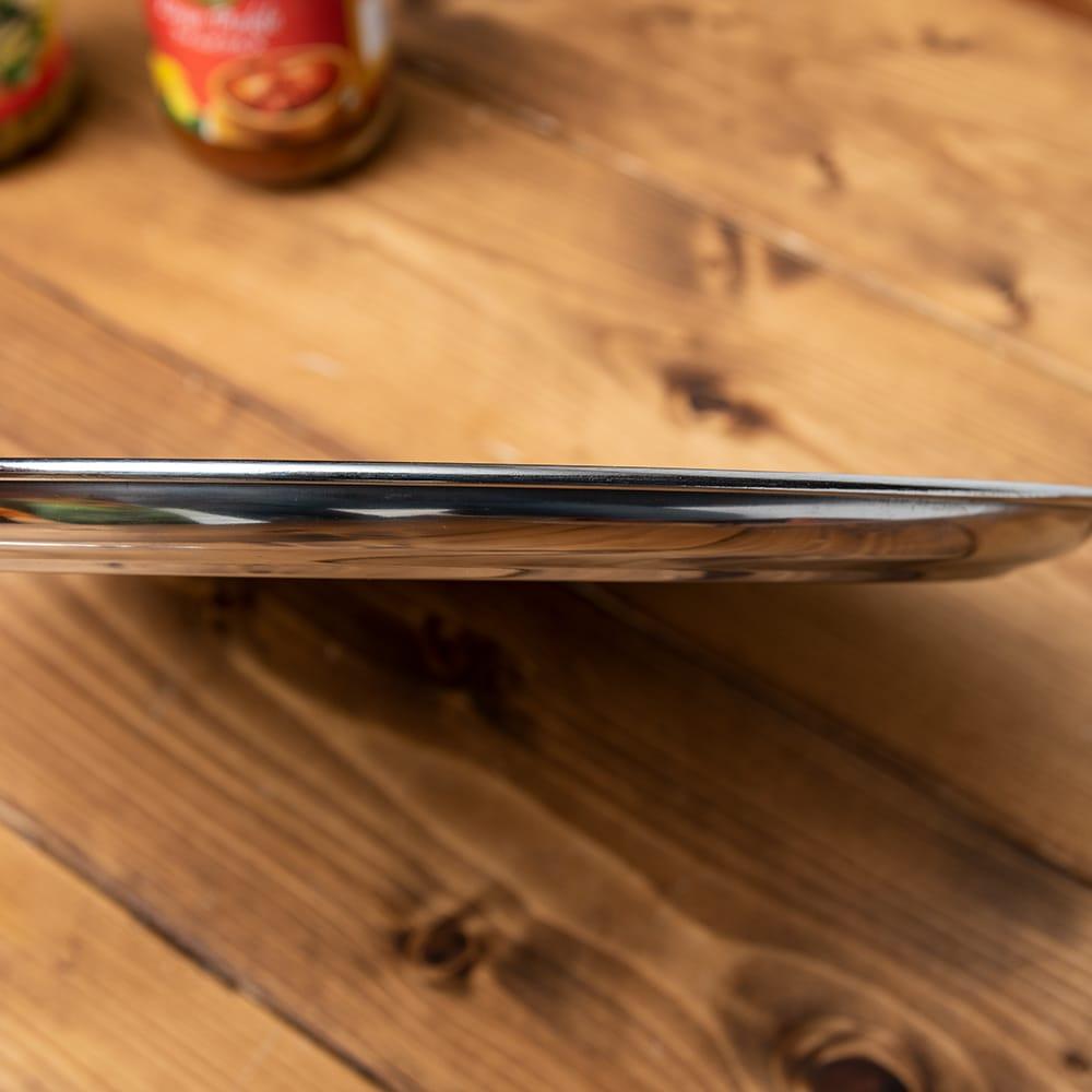 カレー大皿 No.13 [約31cm]-重ね収納ができるタイプ 3 - 厚さ2cm足らずでしかも積み重ねができるので場所を取らず便利です。