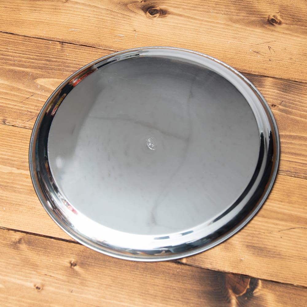 カレー大皿 No.13 [約31cm]-重ね収納ができるタイプ 4 - 裏面はスッキリシンプルです。
