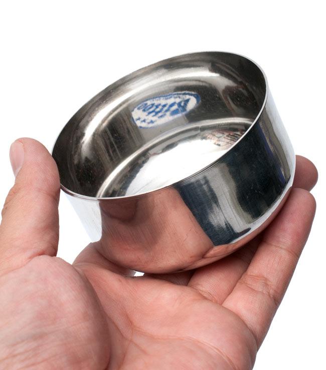 カレー小皿(約8.5cm×約4.5cm) 5 - サイズ比較のために手に乗せてみました