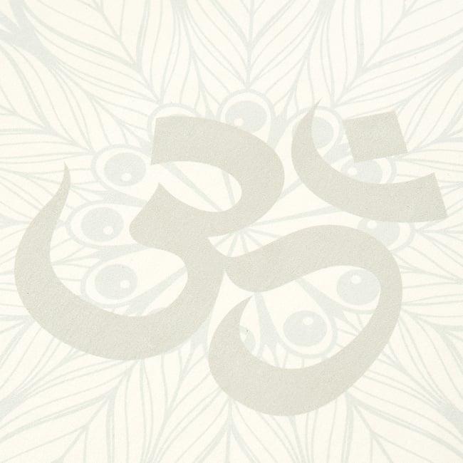 (天然ゴム)高品質エスニックヨガマット4mm - OMマンダラ 8 - 拡大写真です