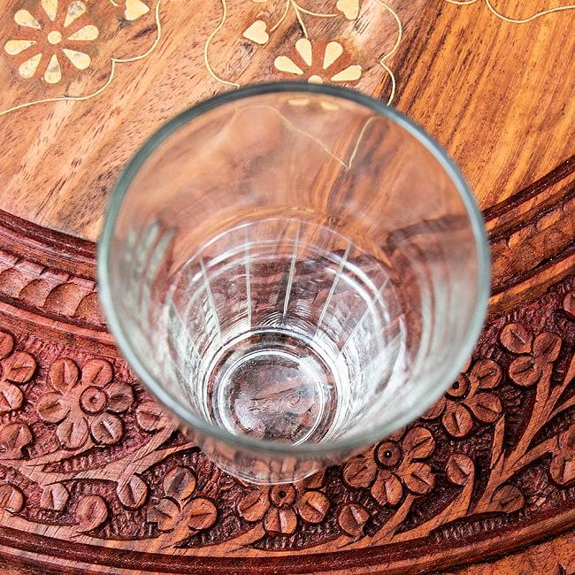 インドのチャイカップ[高さ9.5cm程度 直径6cm程度] 2 - コップ底面部と柄の部分です