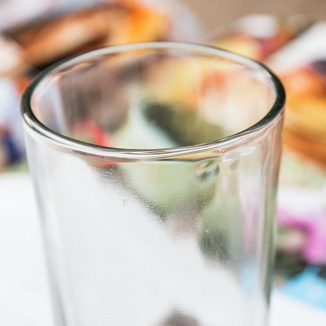 インドのチャイカップ[高さ:約11.5cm 直径:約6cm] 2 - インド特有のグラスです