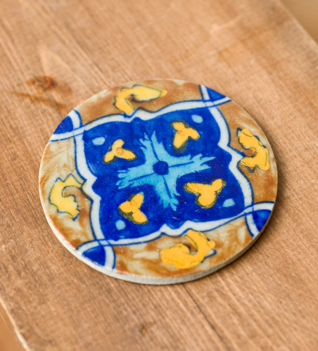Tirakita Jaipur Pottery Coaster Ethnic Asian India Food Food