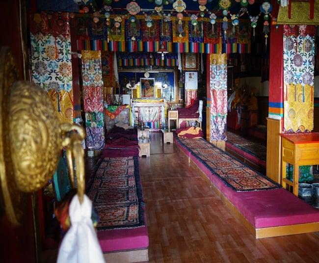 カーラ・バイラヴァ(Kal Bhairav)の壁用ハンギング 9 - チベット寺院の壁などに飾られます