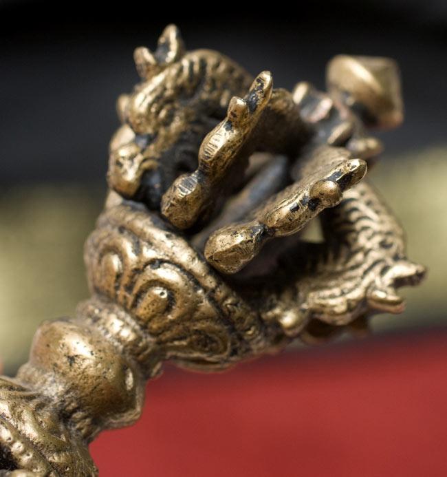 ドルジェ(ヴァジュラ・金剛杵) - 九鈷杵 2 - 細かい模様がきれいです。