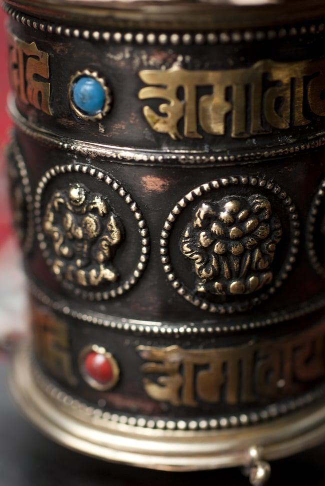 壁掛けマニ車 7 - はるかなチベット・ネパールを思い起こさせるマニ車。