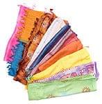 【卸の特別セット】インド・アジアの布10枚セット