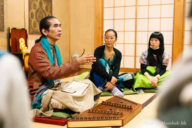 Sangeet Mela TOKYO2015 - インド古典音楽&舞踊オールナイトフェスティバル - 12 - サントゥール教室もあります