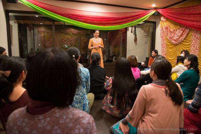 Sangeet Mela TOKYO2015 - インド古典音楽&舞踊オールナイトフェスティバル - 8 - 無料のワークショップがたくさん! これはインド舞踊のワークショップです