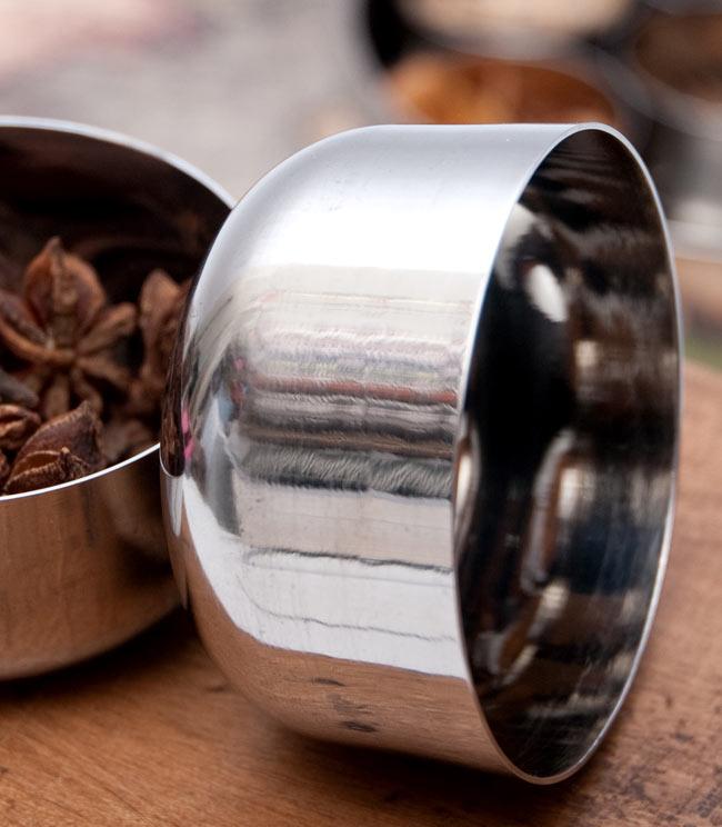【5点セット!】カレー小皿(約7.5cm×約4cm)の写真4 - 横からの写真です