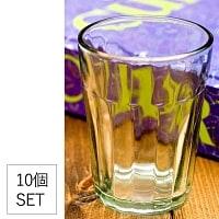 【お得な10個セット】インドのチャイカップ[約8cm程度×直径:約6cm]