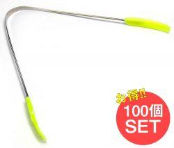 【100個セット】舌の掃除機 タン スクレーパー【もち手つき】