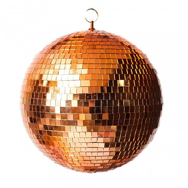 ミラーボール −銅色[300mm]の写真