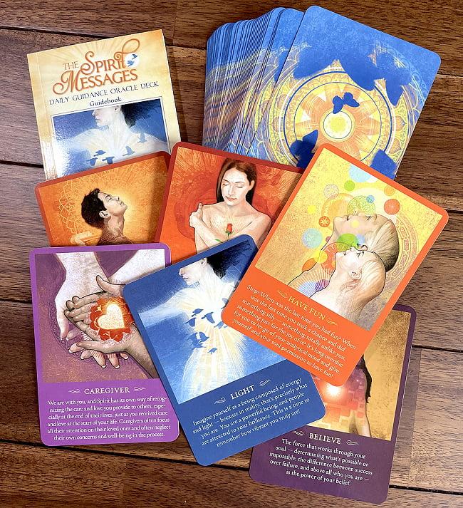 スピリットメッセージオラクルカード - THE SPIRIT MESSAGES ORACLE CARDS 2 - 中を開けてみました