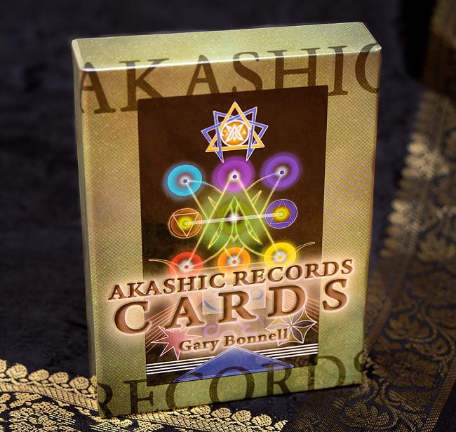 アカシック レコード カード(新装版) 2 - 斜めから撮影しました
