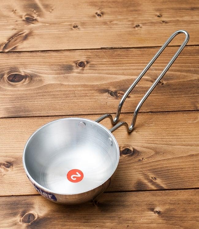 タルカパン[特大]- アルミ【34cm】インド料理でスパイスをテンパリングする調理器具の写真