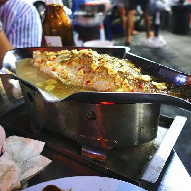 炭火でお魚を調理できる!! お魚模様のフィッシュパンセット アウトドアでも大活躍 13 - このように使います