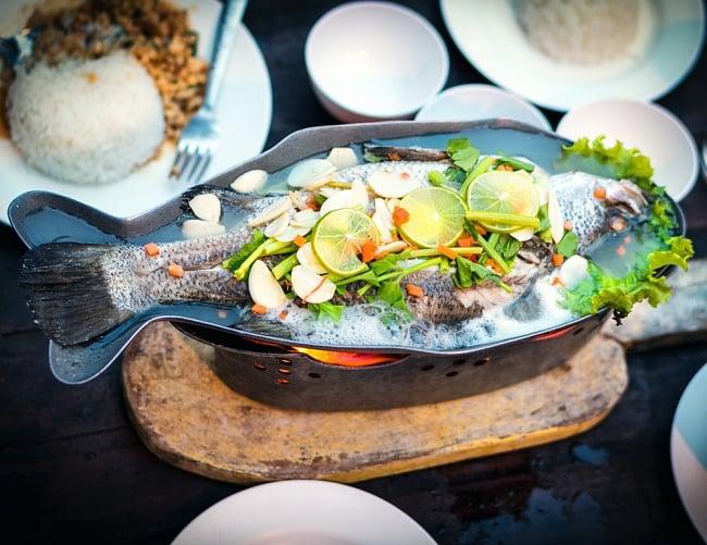 炭火でお魚を調理できる!! お魚模様のフィッシュパンセット アウトドアでも大活躍 14 - アイデア次第でいろいろな料理へ使えますよ