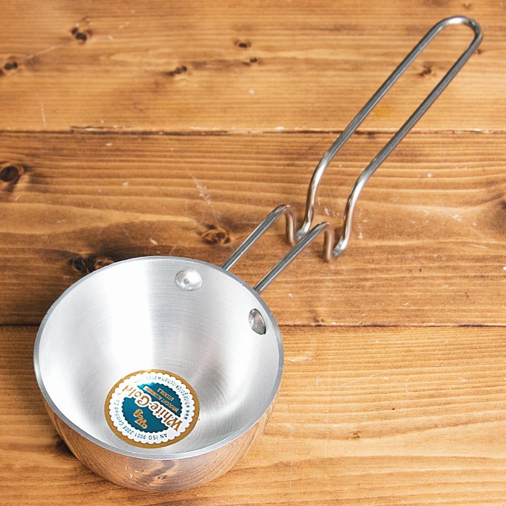 タルカパン[大] - アルミ【約35cm】インド料理でスパイスをテンパリングする調理器具の写真