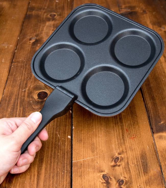 ウタパムメーカー 南インド料理UTTAPAM用フライパン 8 - このくらいのサイズ感になります