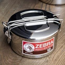鍋にもなる タイのステンレス弁当箱 ZEBRAブランド - 12cm