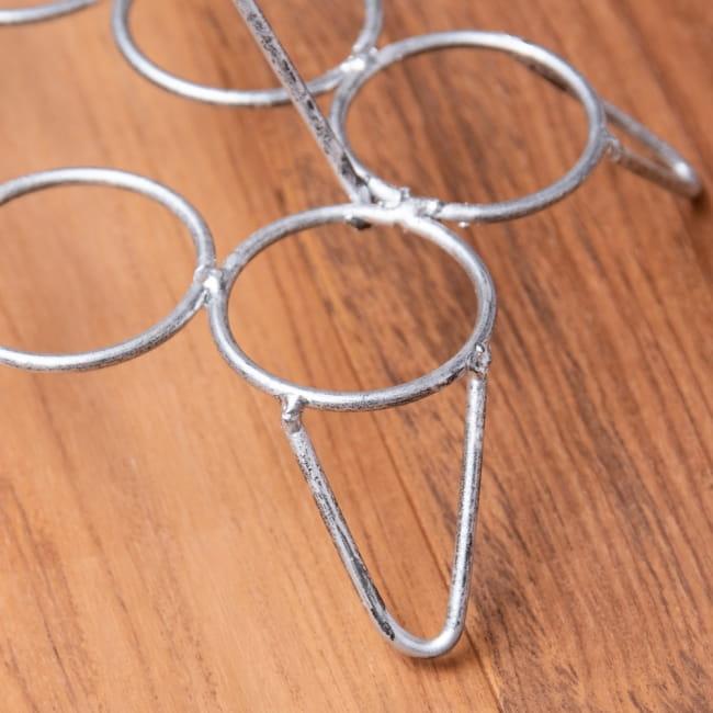 チャイワーラーのチャイカップホルダー - 8カップ用 3 - チャイを一気に運ぶことができます