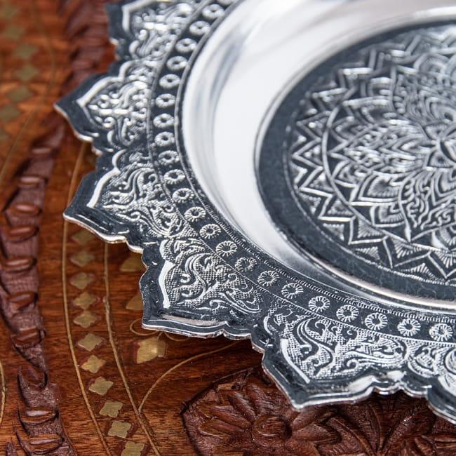 タイのお供え入れ 飾り皿 - 直径:約22cm 3 - 細部を見てみました。