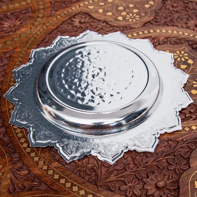 タイのお供え入れ 飾り皿 - 直径:約22cm 5 - 裏面はシンプルです。