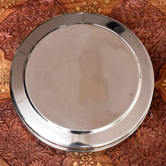 円形スパイスボックス 7種類のスパイスを入れられる![直径約20.5cm] 6 - 上からの写真です