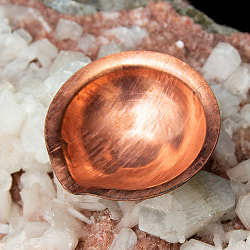 銅の聖油・聖水ボウル - 直径4.5cm