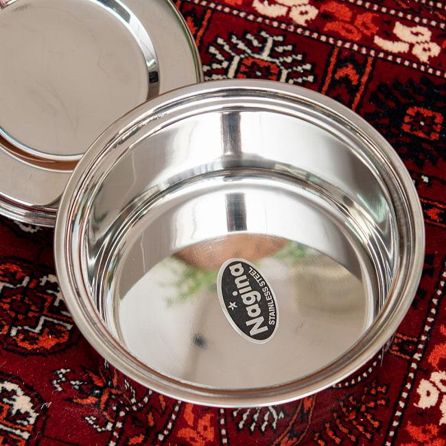 チャパティ保温器 インド料理 チャパティーケース 1600ml 6 - 中はこのようになっています