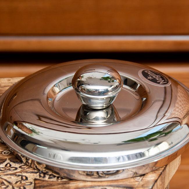 チャパティ保温器 インド料理 チャパティーケース 1600ml 8 - 蓋の写真です