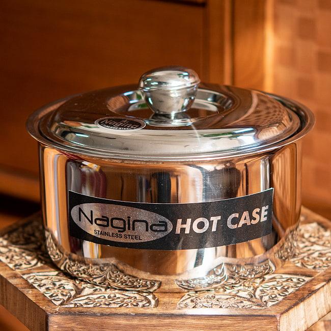 チャパティ保温器 インド料理 チャパティーケース 1600mlの写真