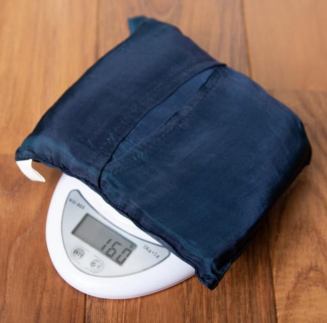 ベトナムのシルク寝袋[シングルサイズ] 6 - 重さはたったの160gです