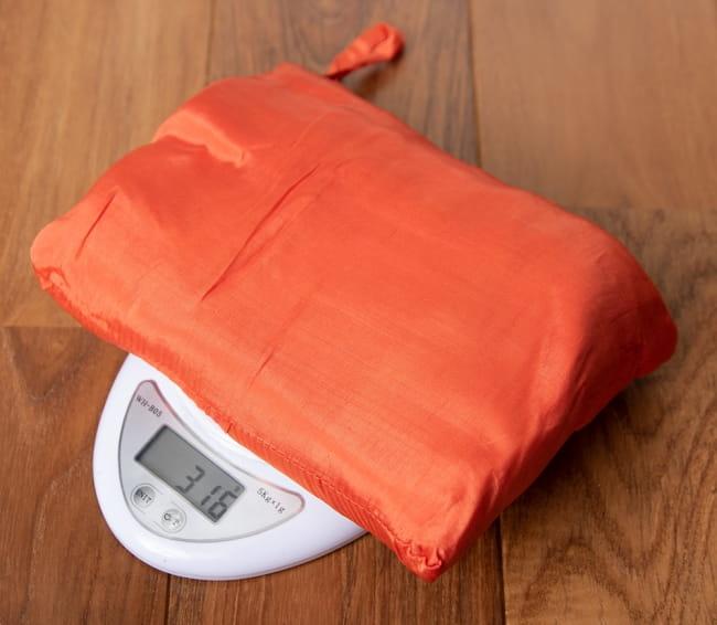 ベトナムのシルク寝袋[ダブルサイズ] 5 - 重さも320gです