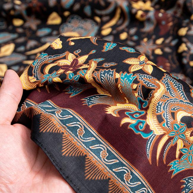 〔210cm*110cm〕インドネシア伝統!コットンバティック - 赤・格子 10 - ソーファーカバーとしても!一気に雰囲気が変わります。他にも目隠しに使ったり、カーテンにしたり、手作り衣料の素材にしたりアイデア次第で何にでも使えるバティックです!