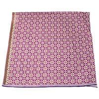 〔210cm*110cm〕インドネシア伝統!コットンバティック - 紫・格子