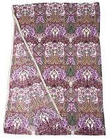 〔160cm*115cm〕インドネシア伝統!コットンバティック - 紫・更紗