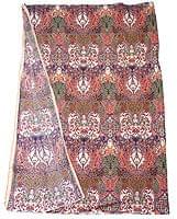 〔160cm*115cm〕インドネシア伝統!コットンバティック - サーモン・更紗