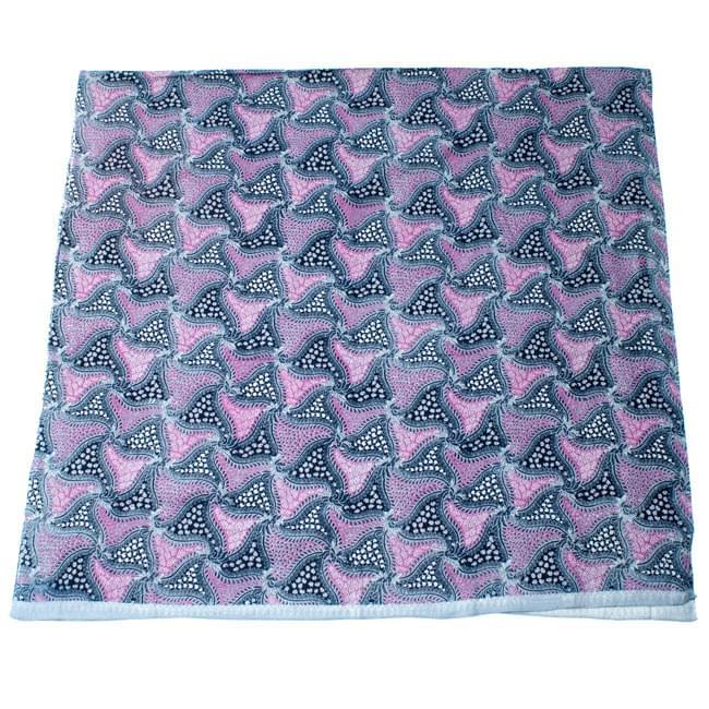 〔210cm*110cm〕インドネシア伝統!コットンバティック - ピンク・更紗の写真