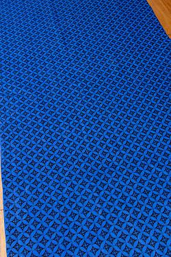 インドネシア伝統模様 ろうけつ染めデザインのコットンバティック〔204cm*108cm〕