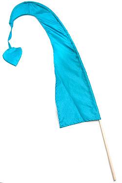 【自由に選べる3個セット】カラフルプリント - ウンブル・ウンブル(バリのぼり旗)【約50cm】の写真
