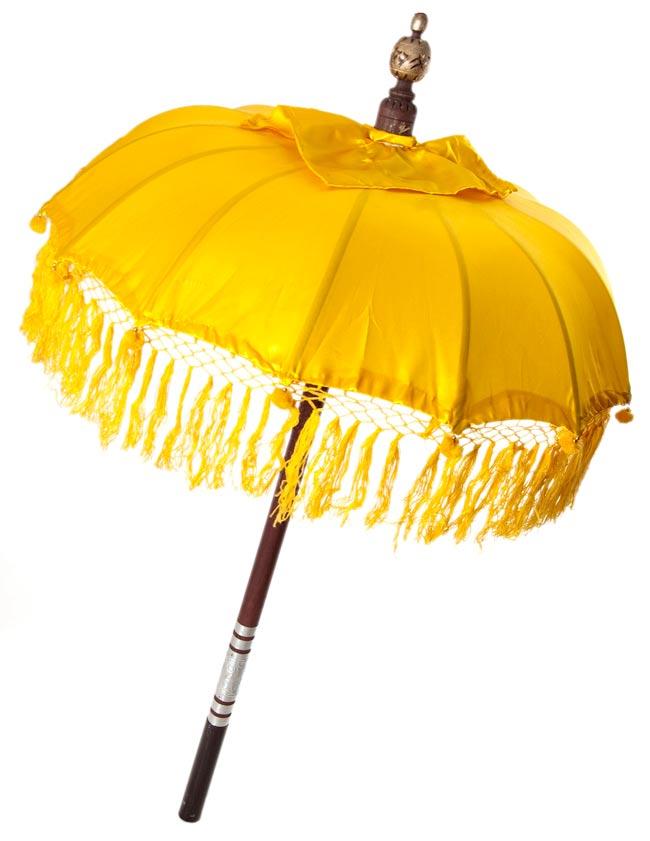 バリの傘(黄色) - 80cmの写真