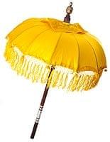 バリの傘(黄色) - 80cm