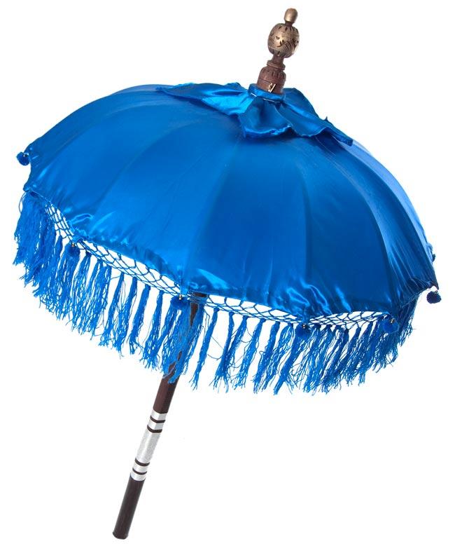 バリの傘(青) - 80cmの写真