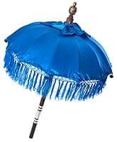 バリの傘(青) - 80cm